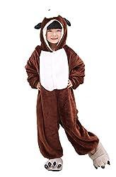 Tonwhar Unisex-child Cute Dog Pajamas Kigurumi Cosplay Costume 3d Design