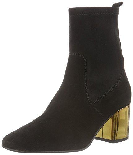 CarvelaSlick Np - Stivali a metà polpaccio con imbottitura leggera Donna , Nero (Nero (nero)), 39