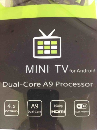 Mini Computer,1080P Dual-core Android 4.1 TV Box MK808 Mini PC RK3066 1GB DRR3+8GB Nand Flash Black By ownshop