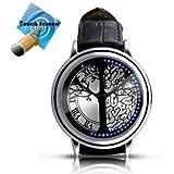 Elektronische Armbanduhr - Futuristic Super Cool Herren Armbanduhr,Ideal Wristwatch For Men/Women,60 LED Special Design