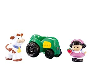 Little People Sonya Lee and Tractor