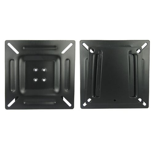 """Power Mounts Heavy Duty For 10""""-24"""" Small Slim Lcd, Led Tv & Computer Monitor, Flat Screen Tv Wall Mount Bracket With No Tilt, Ultra Thin Mount Bracket For Flat Panel Plasma, Led, & Lcd Displays"""