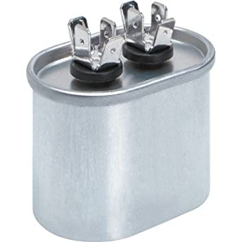 370 x 5 mfd run capacitor oval industrial for 370 volt 10 mfd motor run oval capacitor