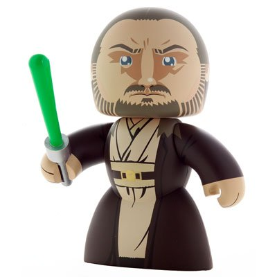 Star Wars - Playsets - Mighty Muggs Qui-gon Jinn