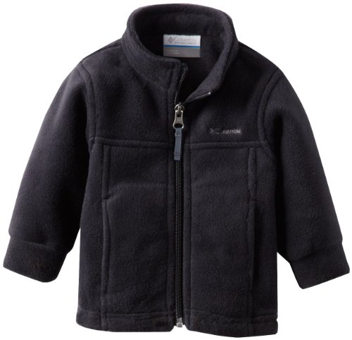 Columbia Baby Boys' Steens Mt II Fleece, Black, 6-12 Months