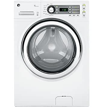GE GFWS1500DWW 4.1 Cu. Ft. White Stackable With Steam Cycle Front Load Washer - Energy Star