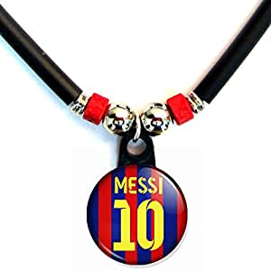 Amazon.com: Lionel Messi Soccer Jersey Necklace: Jewelry