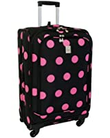 Jenni Chan Dots 360 Quattro 25 Inch Upright Spinner Luggage