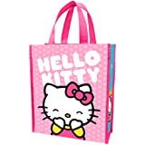 Vandor 18573 Hello Kitty Pink Dots Small Recycled Shopper Tote, Multicolor