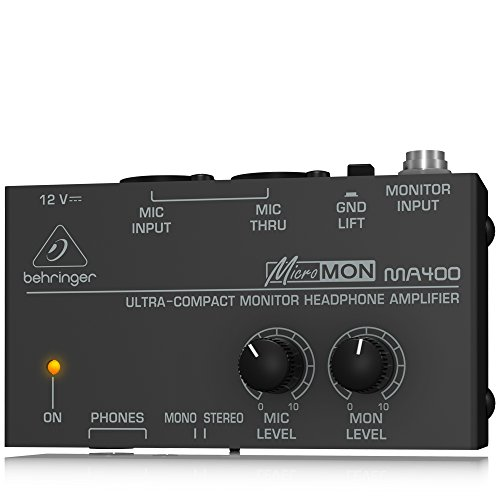 BEHRINGER MICROMON MA400 (Behringer Mixer Personal compare prices)