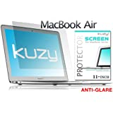 Kuzy - Anti-Glare AIR 11-inch Screen Protector Film for Apple MacBook AIR 11.6 (Models: A1370 and A1465) - Anti-Glare