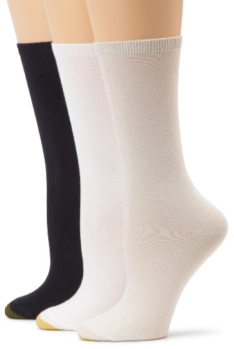 Gold Toe Women's 3-Pack 3-Pack Castaway Crew Socks