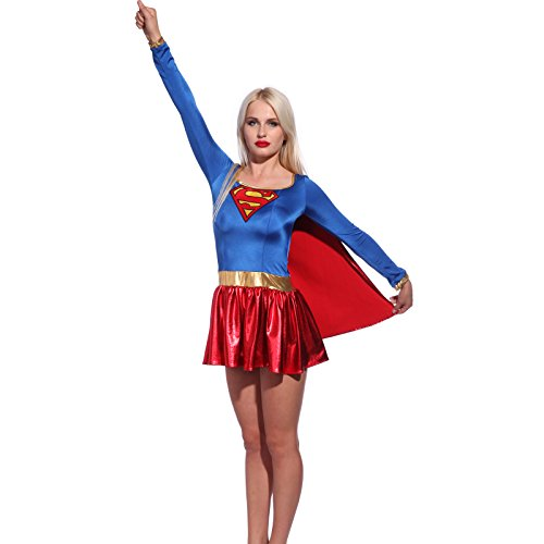 Sexy Superwoman Costume SuperGirl