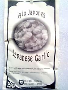 AJO JAPONES - JAPANESE GARLIC FOR PROTECTION Proteccion, Health Salud and y HARMONY Armonio