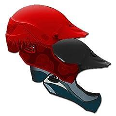 WRSI Moment Full Face Kayak Helmet-Red-S M by WRSI