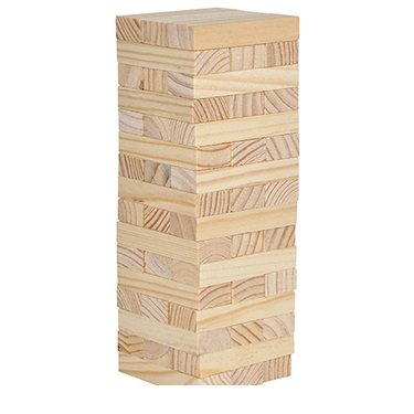 Wooden Tower Puzzle Game