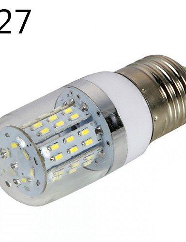 Dngy* 1 pz. E14 / E26/E27 5 W 48 SMD 3014 450 LM bianco caldo / freddo bianco B regolabile / decorativo lampadine mais AC/DC 10 - 14 V , E26/E27-bianco caldo