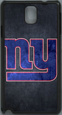 =>>  NFL New York Giants Logo PC Hard Shell Black Skin Cover Case for Samsung Galaxy Note 3 N9000 by Qinchao Sports #24