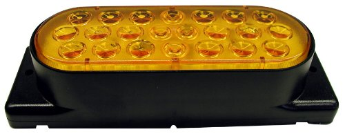 Peterson Manufacturing 423Hsa-2 Piranha Oval Led Auxiliary Strobe Light