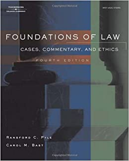 introduction to the study of law cases and materials