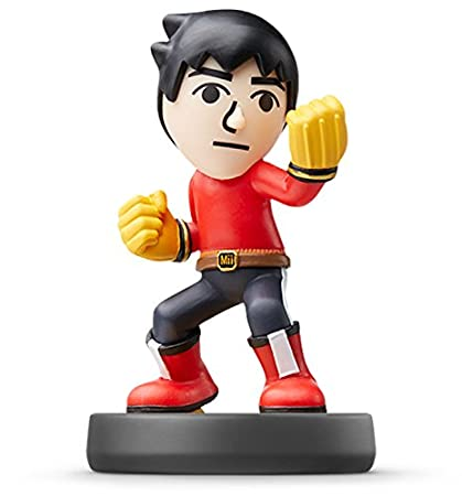 Amiibo Mii Brawler version(Japanese Import)