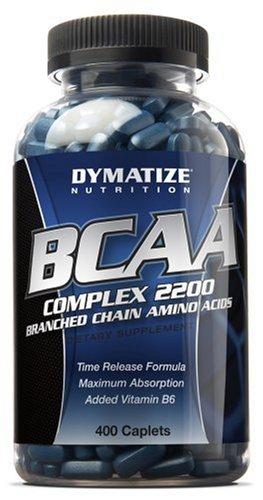Dymatize Nutrition BCAA Complex 2200, 400 Caplets