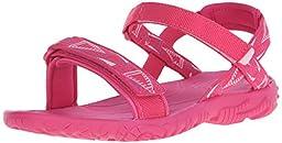 Teva Nova Fashion Sandal (Little Kid/Big Kid), Pink/Pink-T, 11 M US Little Kid