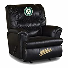 Buy MLB Oakland Athletics Big Daddy Leather Recliner by Imperial