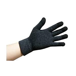 Wizgloves iPhone gloves, texting gloves, smartphone gloves (Color Black, Size - S/M)