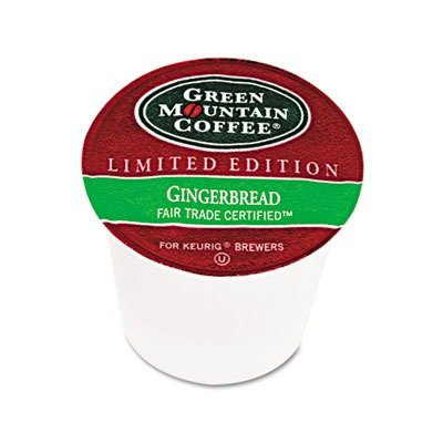 Gmt6742 - Green Mountain Coffee Roasters Fair Trade Certified Gingerbread Flavored Coffee K-Cups