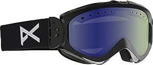 Anon Majestic Women's Ski and Snowboard Goggles Black black/blue lagoon Size:NA