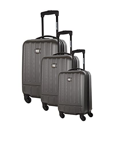 Bag Stone Set de 3 trolleys rígidos Blues