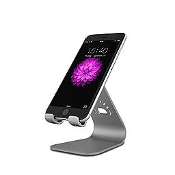 INI Magnesium-Aluminium Alloy Universal Phone Stand - Gray