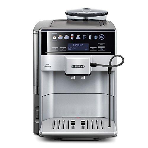 Siemens TE603501DE Kaffeevollautomat EQ.6 series 300 (15 bar, Direktanwahl durch Sensorfelder, oneTouch Function, Cappuccinatore ), silber thumbnail