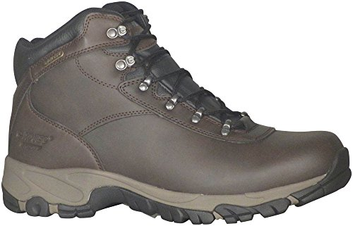 Hi-Tec Men's Altitude V I WP Wide Hiking Boot,Dark Chocolate/Light Taupe/Black,12 W US