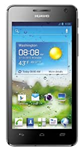 Huawei Ascend G 615 Smartphone (11,4 cm (4,5 Zoll) Touchscreen, 8 Megapixel Kamera, 8 GB Interner Speicher, Android 4.0) schwarz