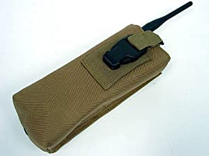 Molle Large Radio/Walkie Talkie Pouch Coyote Brown