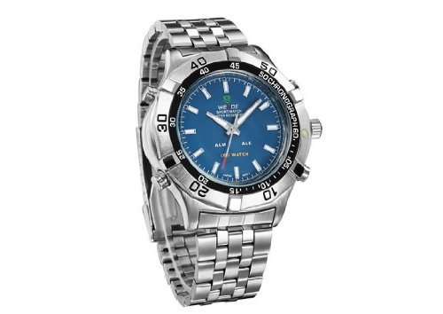 Men'S Waterproof Military Watch Cool Mens Watches Blue