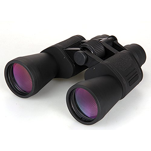 Pocket Binocular Telescope 8-24X50 Zoom Black Nature Bird Watching Hunting