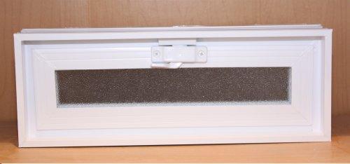 Quality Glass Block 16 x 6 x 3 White Glass Block Vents (Block Window Vent compare prices)