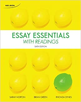 essay essentials with readings 5th edition price