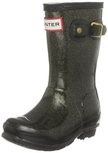 Hunter Orig Glitter Kids Wellington Boot
