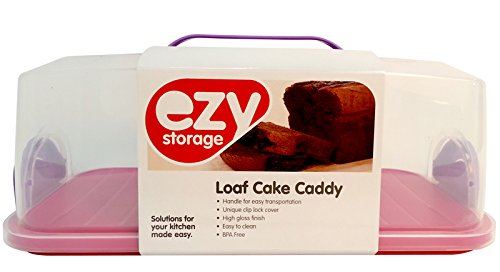 Ezy Storage In My Home Loaf Caddy, Blue/Purple/Pink/Gray