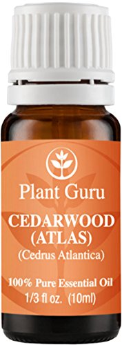 Cedarwood (ATLAS) Essential Oil. 10 ml. 100% Pure, Undiluted, Therapeutic Grade.