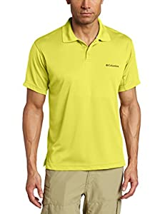Columbia Men's New Utilizer Polo, Acid Yellow, X-Large