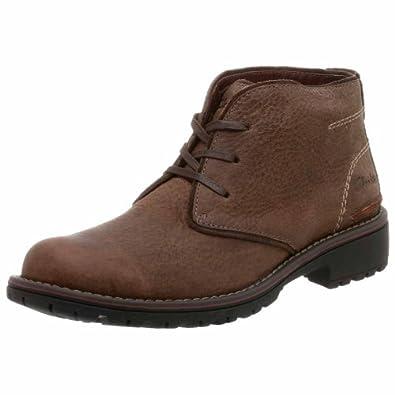 (暴跌)其乐Clarks Men's Roar Boot真皮轻量高帮休闲靴 Taupe$87.68
