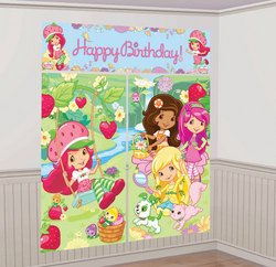 Amscan - Strawberry Shortcake Scene Setter Decoration Set - 1