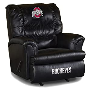 Buy NCAA Ohio State Buckeyes Big Daddy Leather Recliner by Imperial