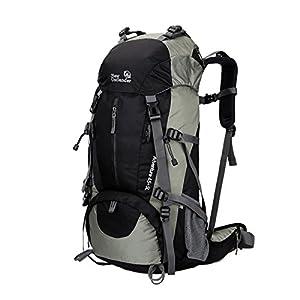 (アウトランダー) OUTLANDER 登山用 リュック レインカバー付き ブラック