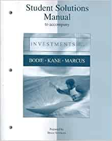 investments by bodie kane and marcus pdf